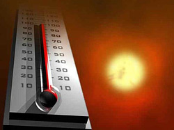 Повышение температуры воздуха до +35 С°