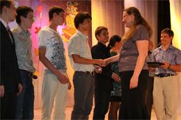 Торжественное вручение дипломов выпускникам ОТИ НИЯУ МИФИ
