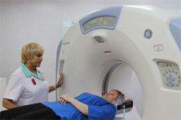 В больнице заработал компьютерный томограф