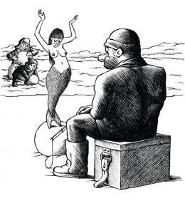 В Озерске карикатуристы повеселились вместе с миром