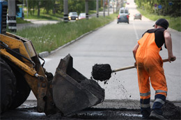 Стартуют плановые ремонты дорог