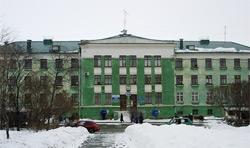 Здания  Комсомольской площади (пл. им Броховича)