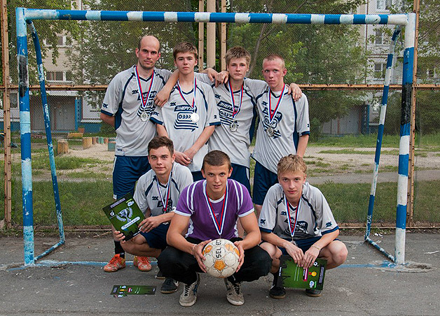 Итоги «Чемпионата по дворовому футболу»