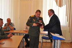 Бывшие озерские военнослужащие получили новые специальности