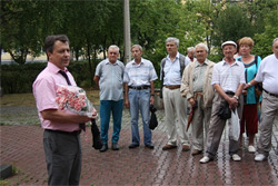 В Озерске состоялся митинг ко Дню строителя