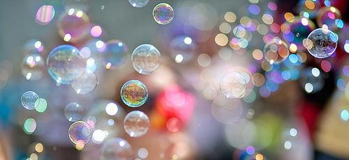 Мыльные пузыри!
