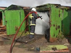 Осень – пожароопасный период в гаражной зоне