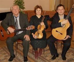 В Озерске при полном аншлаге прошел концерт инструментального трио «Милонга»