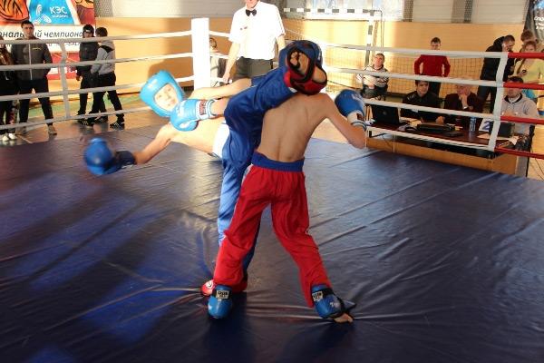 В Кыштыме прошел  турнир по кикбоксингу «Звезда Файтера».