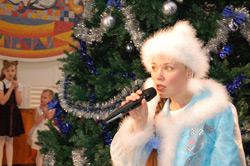 Новогоднее представление начинается