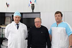 В Озерске побывал выдающийся хирург