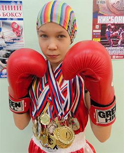 Озёрская спортсменка выиграла Первенство России
