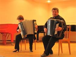 Уральский инструментальный дуэт в Озёрске